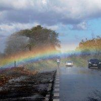 Дотронуться до радуги :: Tatiana Belyatskaya
