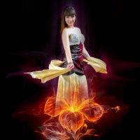 Огненный цветок :: Вячеслав Владимирович
