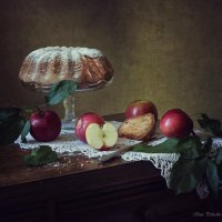 Про яблоки и шарлотку :: Ирина Приходько