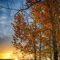 рассвет, октябрь :: Константин Филякин