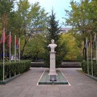 МНТК, памятник  Федорову С. Н. :: Лена