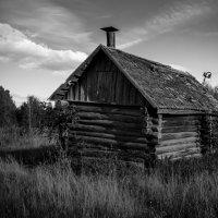 старая баня :: Константин Нестеров