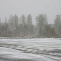 Падал, падал белый снег... :: Михаил Попов