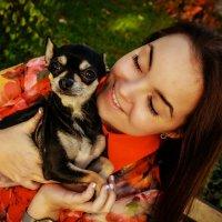 Kristinka and Businka=) :: Alena Kramarenko