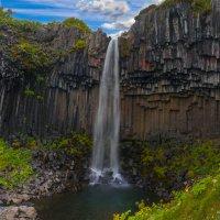 Svartifoss, или Черный водопад :: Денис Глебов