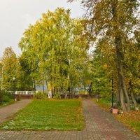 Осенний парк. :: Виктор Евстратов