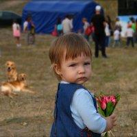 Не приставайте а то собак натравлю, я девочка серьёзная. :: Anatol Livtsov