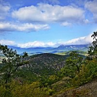Крымские горы :: Мария Богуславская