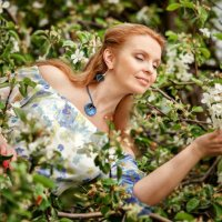 Яблоневый сад :: Татьяна Ситникова