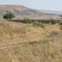 Разрушенный мост у х.Западный :: Юлия Бабитко