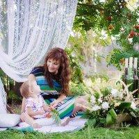 Мама и дочка :: Наталья Дубовая