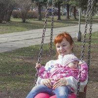 мама и дочь :: Евгений Вяткин