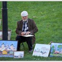 Художник за работой :: Рамиль Хамзин