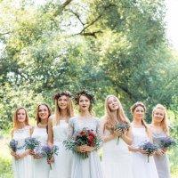 Невеста с подружками :: Кристина Нагорняк