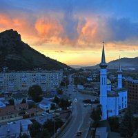 закат над городом :: Евгений Khripp