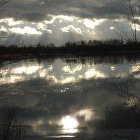 вода на льду залива :: prokyl