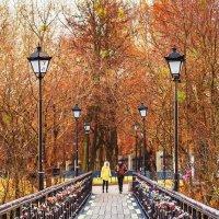 Мост влюбленных - Киев :: Богдан Петренко
