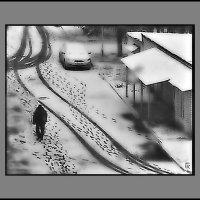 По первому снегу :: Григорий Кучушев