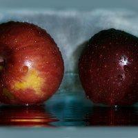Осенних яблок звонкие шары.... :: Людмила Богданова (Скачко)