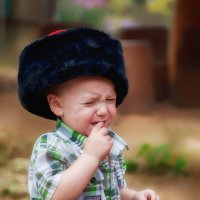 Папаха большаяяяяяя! :: Леонид