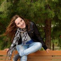 прогулка в парке :: Юлия Бакидко