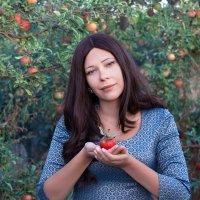 искусительный плод...) :: Райская птица Бородина