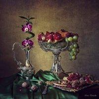 натюрморт с орхидеей на бамбуке :: Ирина Приходько