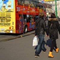 желтые ботинки :: Ольга Заметалова