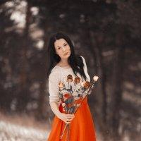 Снежная осень. :: Алексей Хаустов