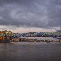 Пушкинский (Андреевский) — пешеходный мост :: Борис Гольдберг