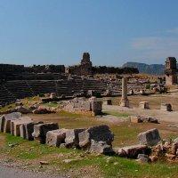 Руины ликийского Ксантоса :: Елена Даньшина