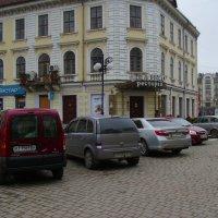 Улица   Галицкая  в  Ивано - Франковске :: Андрей  Васильевич Коляскин