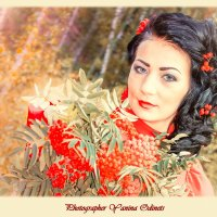 рябиновый портрет :: Yana Odintsova