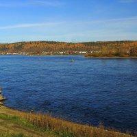 Несет свои воды река Ангара к могучему Енисею... :: Александр Попов