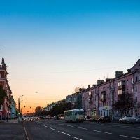 Сумерки в городе. :: Сергей Щелкунов