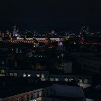 Затейливая геометрия ночной Москвы :: Елизавета Вавилова