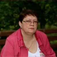 Супруга в парке. :: Anatol Livtsov