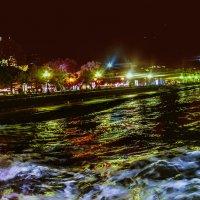 Вид на ночную Ялту :: Ольга Назаренко