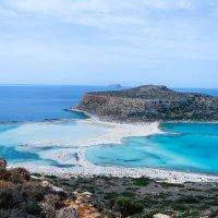 Бухта Балос, слияние трёх морей :: Андрей Володин