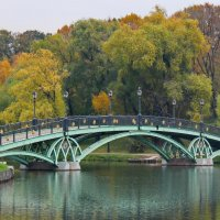 Пройдя по мосту мы в осень попали. :: Маргарита ( Марта ) Дрожжина