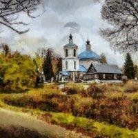 Осень в Новоспасском (из серии)... :: Алексей Лебедев
