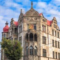 Фрагмент фасада здания Тильзита :: Игорь Вишняков