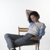 Серия портретов на белом :: Yana Kern