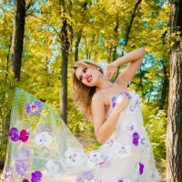 Цветочная фея ) :: Ksenia Shelkova
