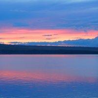 Закат на озере Шира :: Ольга Чистякова