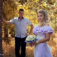Свадебная фотосессия на природе :: Михаил Тихонов