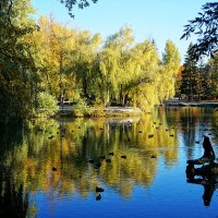Мой любимый городской парк :: Ната Коротченко
