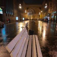 Не все скамейки одинаковы. :: Евгения Кирильченко
