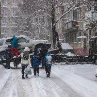 В г.Хабаровск пришла зима .\\серия 5 шт\\ :: Николай Сапегин