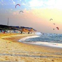 на пляже :: Евгений Дубинский